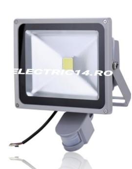 Proiector Led 50w Senzor Lumina Rece