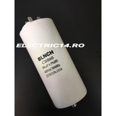 Condensator 50 mf