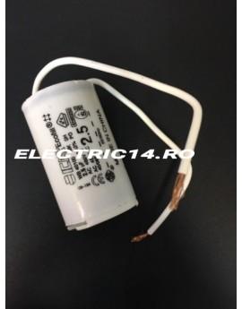 Condensator cu fir 2,5 mf