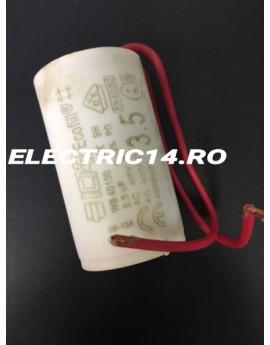 Condensator cu fir 3,5 mf AUTOMATIZARI