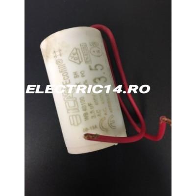 Condensator cu fir 3,5 mf