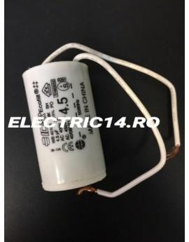 Condensator cu fir 4,5 mf AUTOMATIZARI