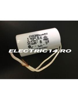 Condensator cu fir 8 mf AUTOMATIZARI