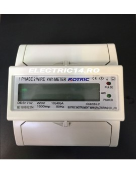 Contor Sina Monofazat Digital DDS1732E/10-40A Botric
