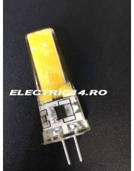 Bec led G4  220v 3w COB Lumina Calda