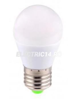 Bec led E27 6w Sferic Lumina Calda Total Green