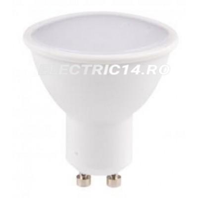 Bec led GU10 4w  Lumina Rece Total Green