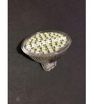 Bec led MR16 3,5w/12v 60 PCS SMD Lumina Calda