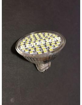 Bec led MR16 3,5w 60 PCS SMD  Lumina Calda