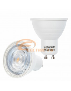 BEC LED GU10 7W LUMINA CALDA MOON LIGHT