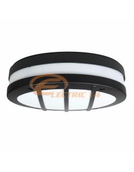 LAMPA BATT 1X60W SERES / GRILA 42531 NEGRU