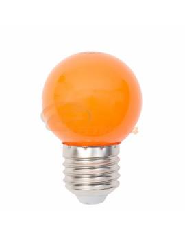 BEC LED E27 3W SFERIC P45 PORTOCALIU