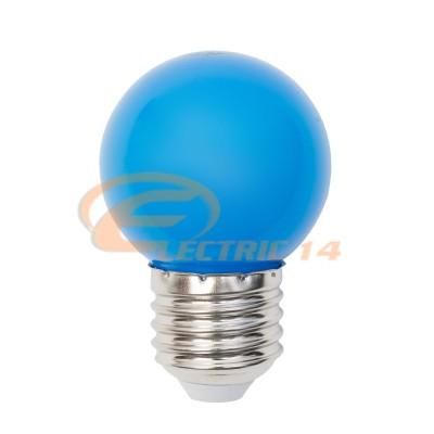BEC LED E27 3W SFERIC P45 ALBASTRU