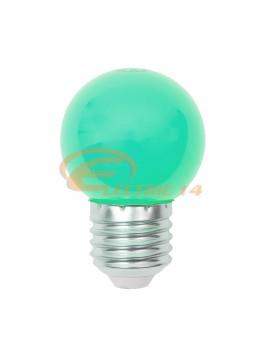BEC LED E27 3W SFERIC P45 VERDE