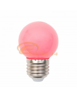 BEC LED E27 3W SFERIC P45 ROZ