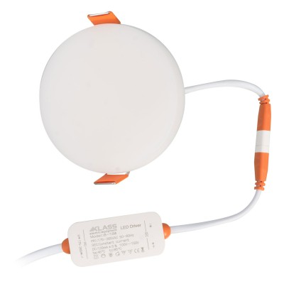 SPOT LED 10W ROTUND INGROPAT (FARA RAMA) LUMINA NEUTRA