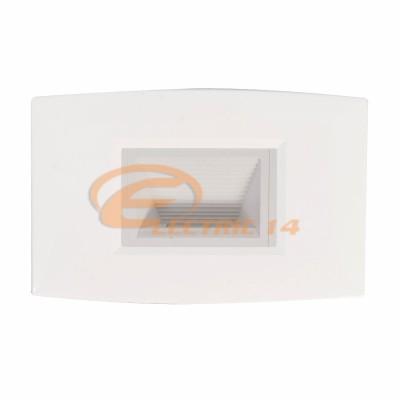 SPOT LED 2W SCARA/HOL ALB EXTERIOR IP67 LUMINA NEUTRA