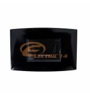 SPOT LED 2W SCARA/HOL NEGRU EXTERIOR IP67 LUMINA NEUTRA