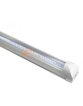 Tub Led T8+Suport 30cm 5w Clar Lumina Calda