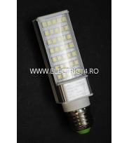 Bec Led G24 10w SMD 5730 Tip Pl Aluminiu Lumina Calda