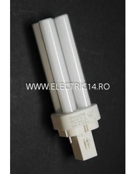 Tub Neon PLC G24 10w/840-2 pini Philips