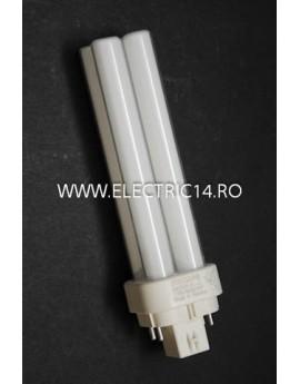 Tub Neon PLC G24 13w/830-4 pini Philips