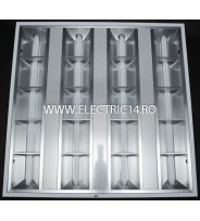 Corp Led T5 Incastrat 4x12W Lumina Rece