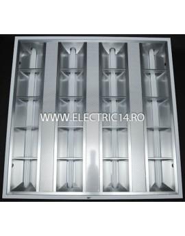 Corp Led T5 Incastrat 4x12W Lumina Calda