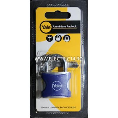 Lacat Aluminiu YE3-32-116-1 Albastru
