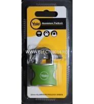Lacat Aluminiu YE3-32-116-1 Verde