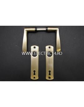 Maner cu Sild cheie 72mm 6673 AB Brass Antique