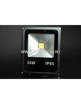 Proiector Led 30w Slim Lumina Calda