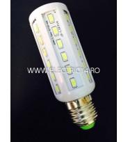 Bec led E27 8w 12V lumina rece