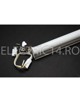 Tub Led T5+Suport 30cm 6w Mat Lumina Rece