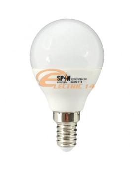 BEC LED E14 3W SMD SFERIC P45 LUMINA CALDA SPN