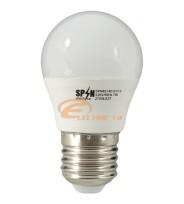 BEC LED E27 7W SMD SFERIC P45 LUMINA CALDA SPN