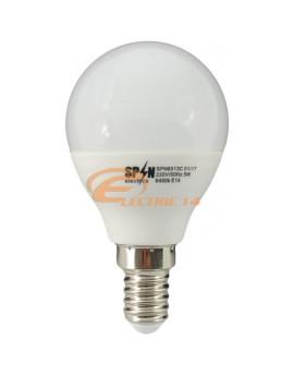 BEC LED E14 5W SMD SFERIC P45 LUMINA CALDA SPN