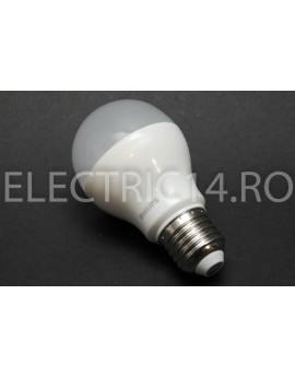 Bec Led E27 9w A60  Lumina Calda  Philips