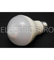 Bec led E27 7w Senzor miscare Lumina Rece