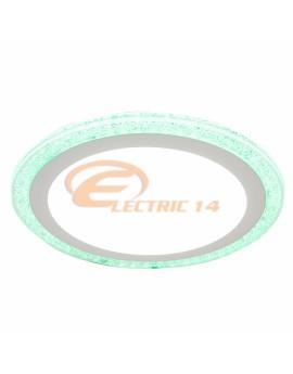 SPOT LED 18W+6W SLIM LUMINA RECE+VERDE ROTUND SPOTURI LED