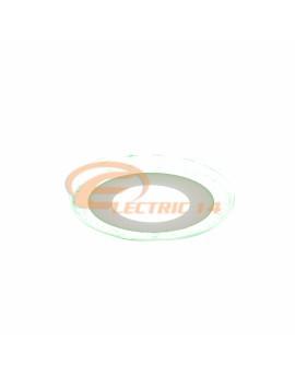SPOT LED 3W+3W SLIM LUMINA RECE+VERDE ROTUND