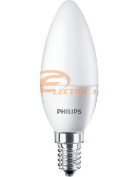 Bec Led E14 5.5w Lumanare Lumina Calda Philips