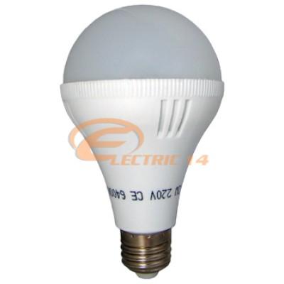 Bec led E27 9w SMD A80 Lumina calda Economy