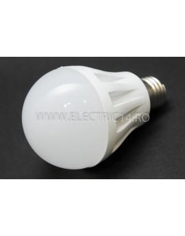 bec led E27 7w SMD Lumina Calda