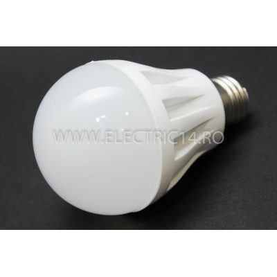 bec led E27 7w SMD Lumina Rece