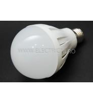 bec led E27 9w SMD Lumina Rece