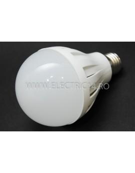 Bec led E27 9w SMD Lumina Calda