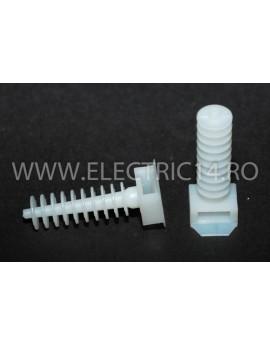 Diblu Fixare Colier Cablu Set 50 Bucati