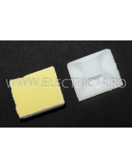 Suport Adeziv Pentru Colier 25X25mm 100 buc / set CLEME - COLIERE - DIBLURI