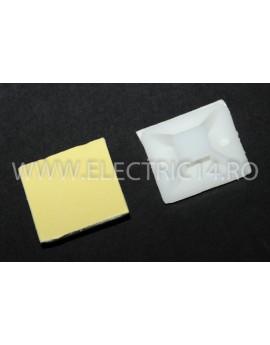 Suport Adeziv Pentru Colier 30X30mm 100 buc / set CLEME - COLIERE - DIBLURI